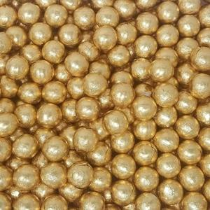 gold-foiled-chocolate-ball-candy